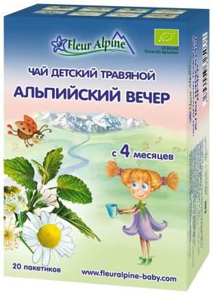 Чай детский Fleur Alpine Organic Альпийский вечер