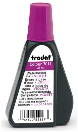 Штемпельная краска Trodat 7011. Объем: 28 мл. Цвет: фиолетовый.
