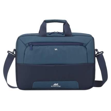 """Сумка для ноутбука 15"""" Rivacase 7737 Blue/Aquamarine"""