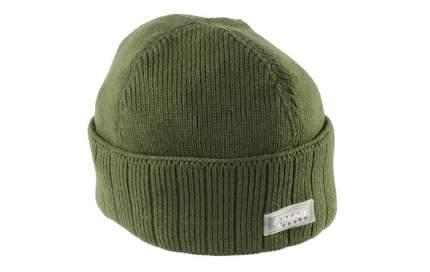 Шапка мужская Mikado UM-ULED04, зеленая, One Size