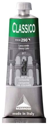 Масляная краска Maimeri Classico зеленый лак 60 мл