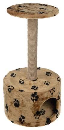 Комплекс для кошек Пушок Круглый Бежевый с лапками