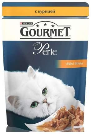 Влажный корм для кошек Gourmet Perle, курица, 24шт, 85г