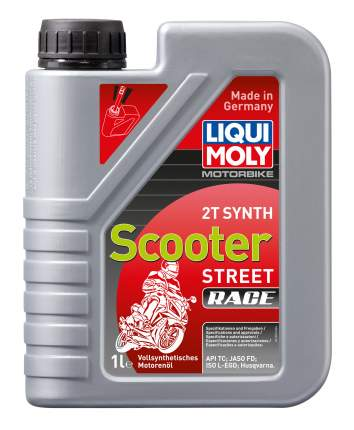 Масло моторное Liqui moly Racing Scooter 2T Synth 1053 1л