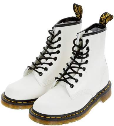 Ботинки женские Dr. Martens 10072100 белые 41 UK