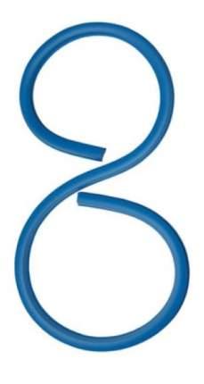 Лекало Koh-i-noor 80 см, гибкое, свинцовый стержень в пластике, европодвес, 071705800001