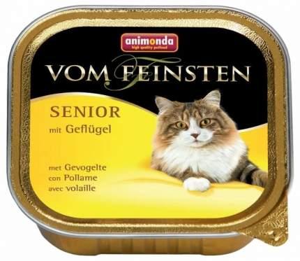 Консервы для кошек Animonda Vom Feinsten Senior, для пожилых, домашняя птица, 100г