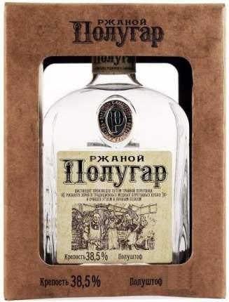 Водка  Polugar Rye gift box 0.75 л
