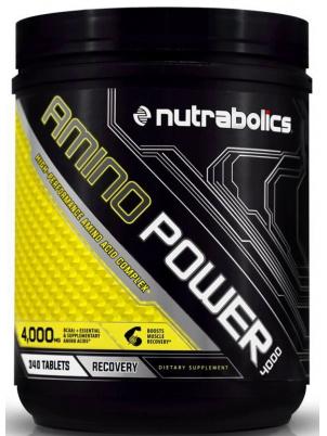 Amino Power 4000 Nutrabolics, 340 таблеток