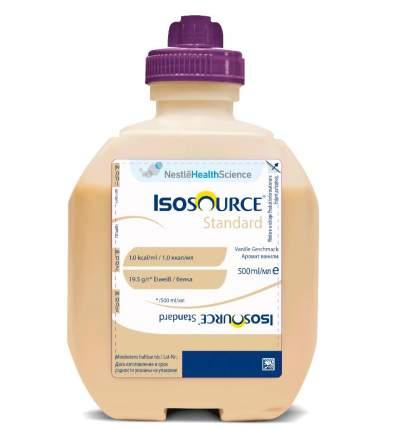 Смесь жидкая Isosource Standart Vanilla с ароматом ванили 500 мл