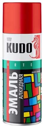 Эмаль Kudo Универсальная Тёмно-Красная 520 Мл KU-10042
