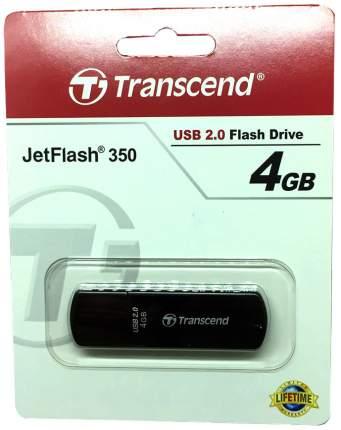 USB-флешка Transcend JetFlash 350 4GB Black (TS4GJF350)