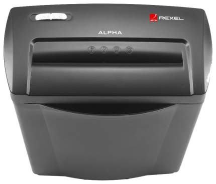 Шредер REXEL Alpha S 2102020EU Черный