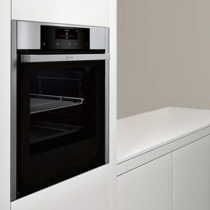 Встраиваемый электрический духовой шкаф Neff B46CT64N0R Silver