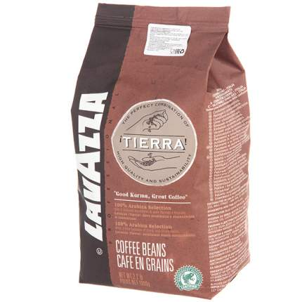 Кофе в зернах Lavazza Tierra 1 кг