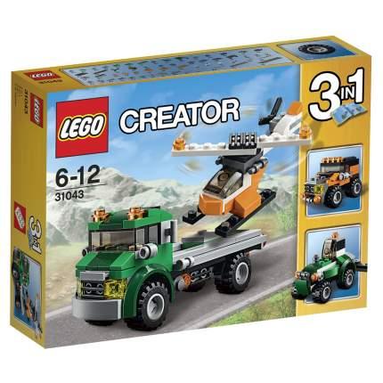 Конструктор LEGO Creator Перевозчик вертолета (31043)