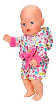 Одежда халат с капюшоном Baby Born Zapf Creation 822-463