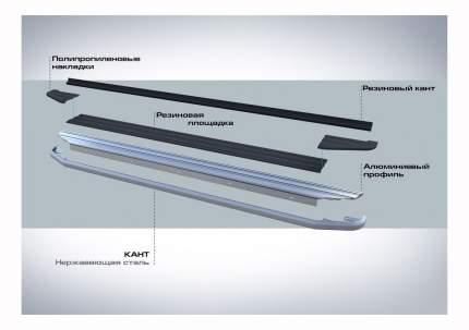 Порог-площадка RIVAL для Hyundai (A180ALP.2305.2)