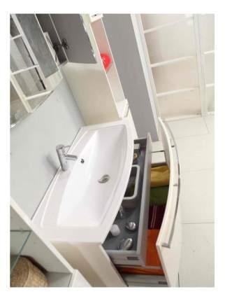 Тумба AQUATON Севилья 80 (Милан М 80) белый жемчуг (1A126301SEG30) без раковины