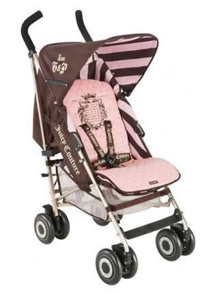 Прогулочная коляска Maclaren Juicy Couture Brown, Pink WOX10553