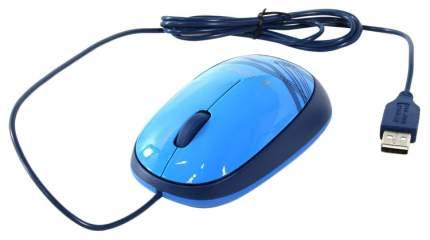 Проводная мышка Logitech M105 Blue (910-003114)