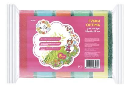 Губки для посуды Elfe optima 5 шт