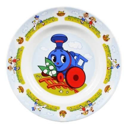Набор детской посуды Дулевский фарфор Паровозик из Ромашково