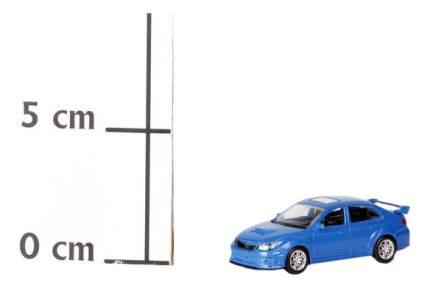 Коллекционная модель Subaru WRX STI RMZ City 344014 1:64