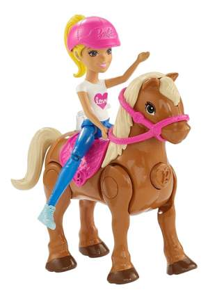 Кукла Barbie FHV63 Барби в движении Пони и кукла