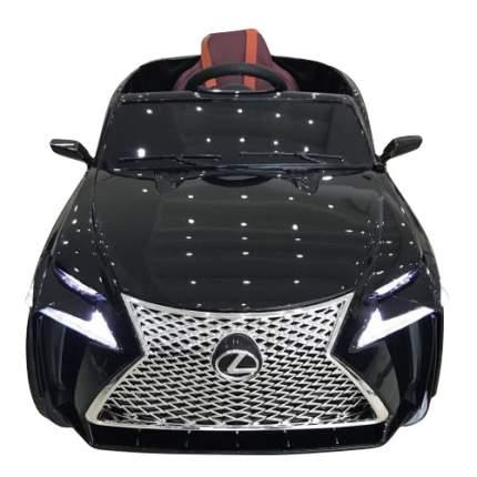 Электромобиль Lexus черный глянец RIVERTOYS