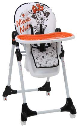 Стульчик для кормления Polini Disney baby 470 Минни Маус белый