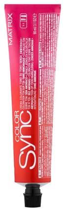 Краска для волос Matrix Color Sync 6A Темный блондин пепельный 90 мл