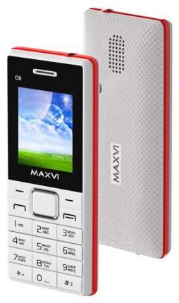 Мобильный телефон Maxvi C9 White/Red