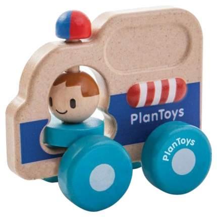 Каталка детская Plan Toys Rescue Car Полицейская машина 5686