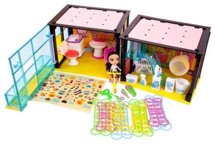 Модный дом ABtoys 2 в 1 в наборе с куклой и мебелью PT-00852 180 деталей