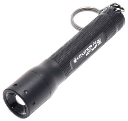 Туристический фонарь Led Lenser P3 черный, 3 режима