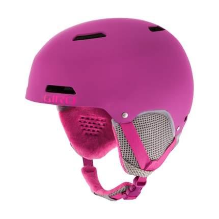 Горнолыжный шлем детский Giro Crue 2018, темно-розовый, M
