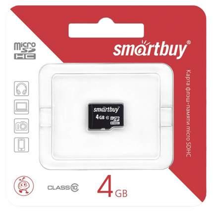 Карта памяти SmartBuy Micro SDHC SB4GBSDCL10-00 4GB