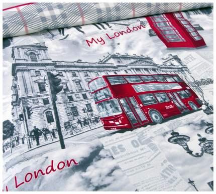 """Постельное белье """"Лондон"""" евростандарт"""