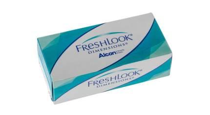 Контактные линзы FreshLook Dimensions 6 линз -4,00 carribean aqua