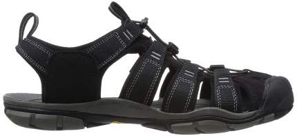 Сандалии мужские Keen Clearwater CNX, black/gargoyle, 8.5 US