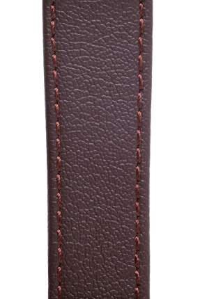 Ремешок для часов из кожи Signature 111559 коричневый 18 mm long