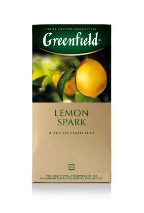 Чай черный Greenfield lemon spark 25 пакетиков