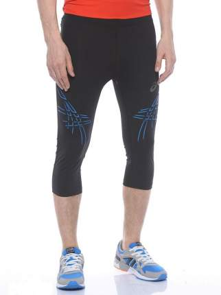 Тайтсы Asics Stripe Knee Tight, black/blue, M