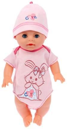 """Одежда для пупса """"Боди с шапочкой"""", розовое Маленькое чудо"""