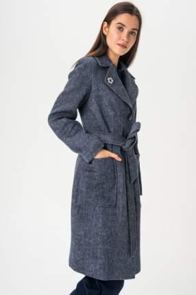 Пальто женское ElectraStyle 3-6040-317 синее 52 RU