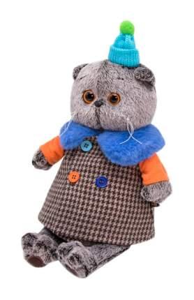 Мягкая игрушка BUDI BASA Басик в комбинированном пальто, 30 см
