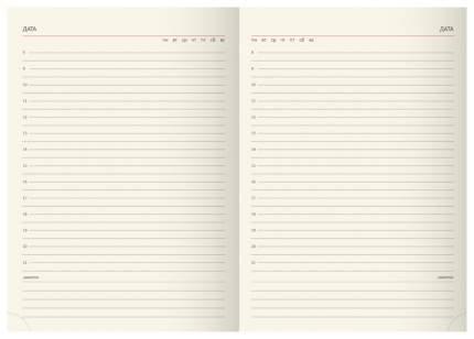 Ежедневник недатированный ErichKrause «Soft Touch» на магните Синий