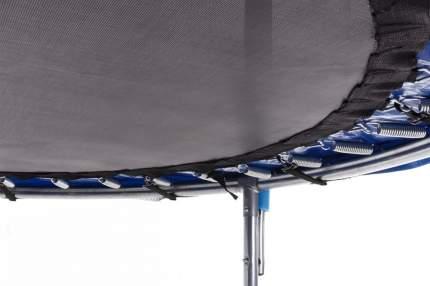 Батут BaseFit TR-201 244 см с сеткой 244 см, blue/black