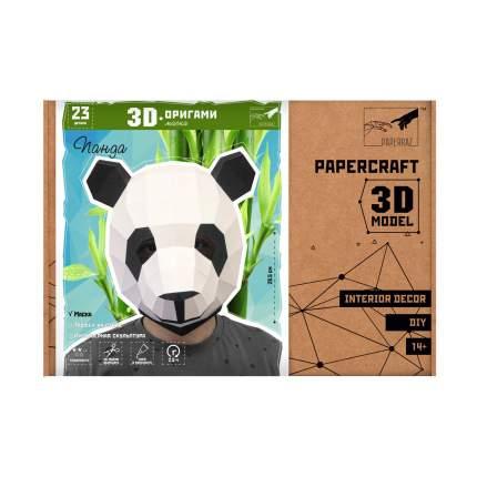 3D-конструктор Paperraz Маска «Панда»